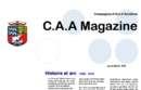 CAA Magazine : le numéro d'avril !